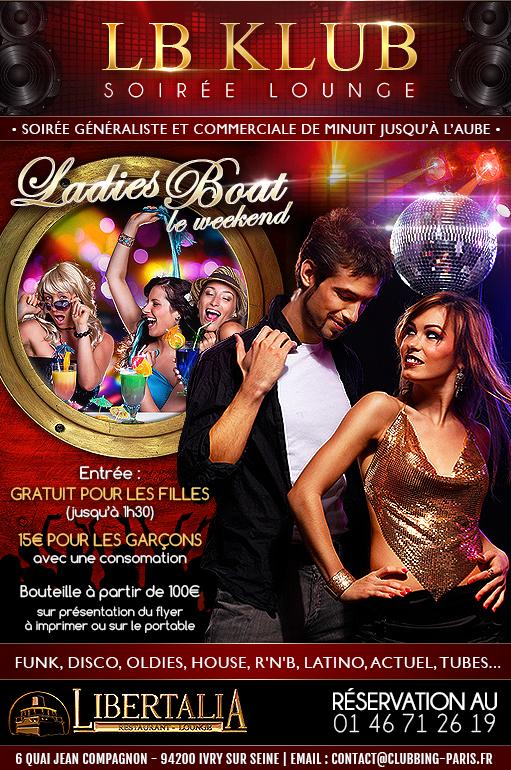Soirée Clubbing LB Klub Libertalia