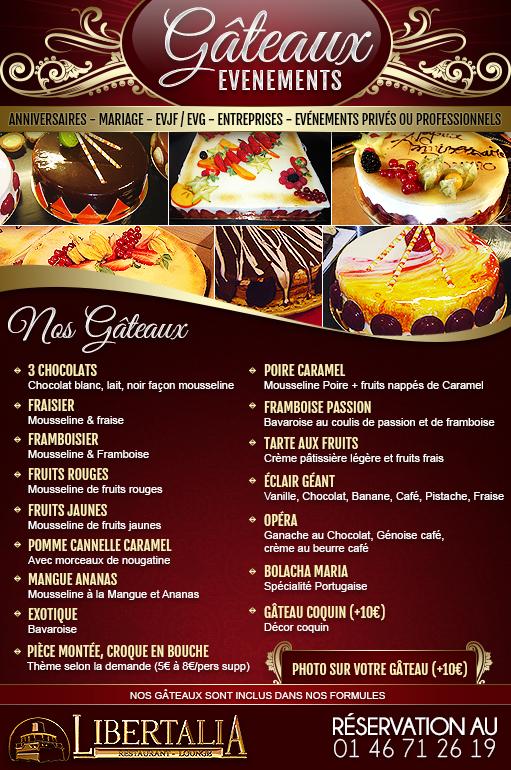 Gâteaux événements : Anniversaires, Mariages, EVJF/EVG, Entreprises, événements privés ou professionnels